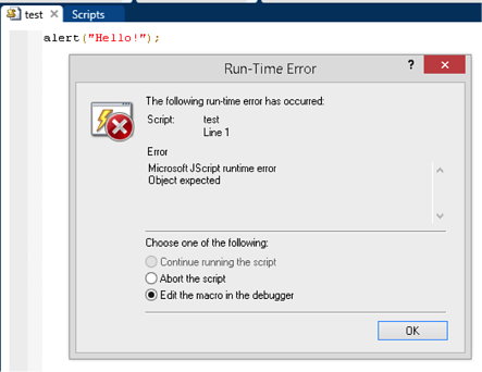Part 1: How to create alert pop-up dialogs on IBM i using newlook